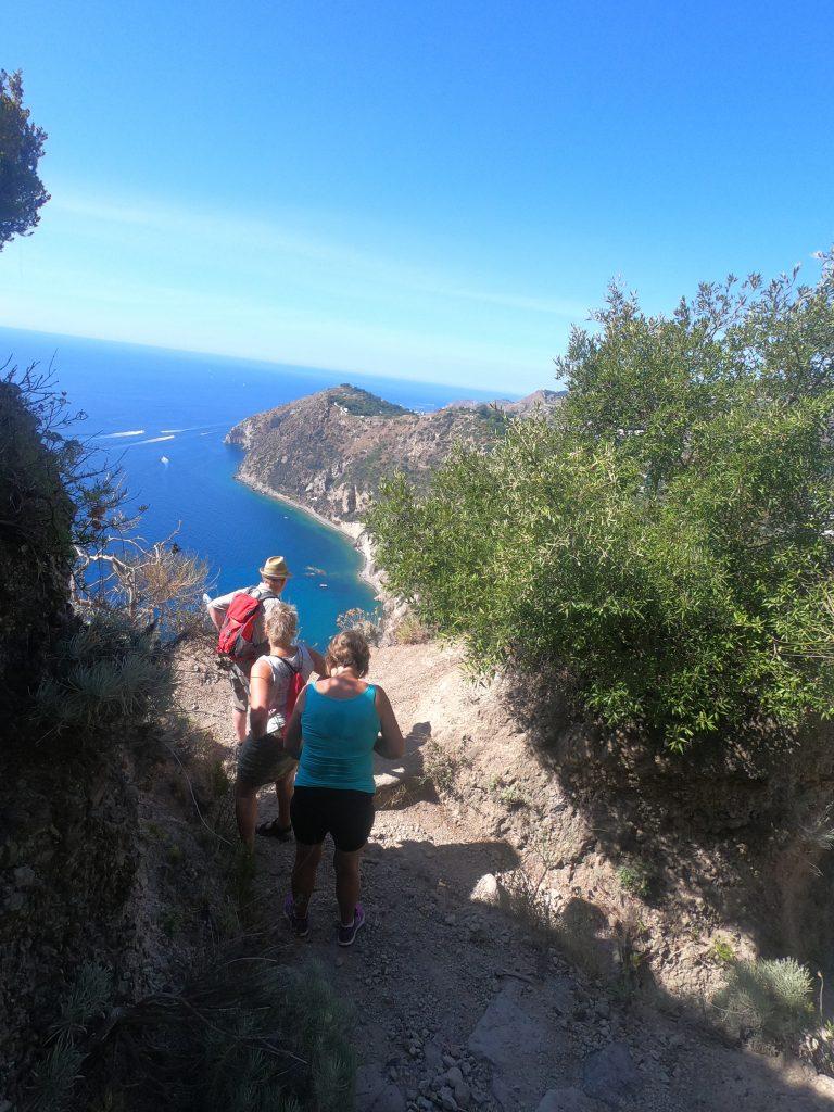Ischia vandring